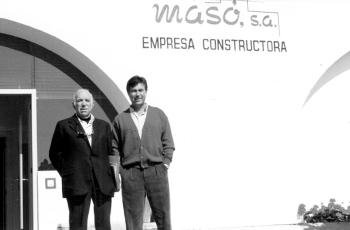 Inmobiliaria y constructora en S'Agaró Imagen histórica Fundadores