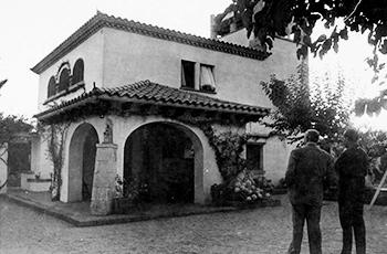 Inmobiliaria y constructora en S'Agaró Imagen histórica Primeros chalés